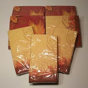 Other - LAST DAY Fall Napkins Guest Towels Entertaining